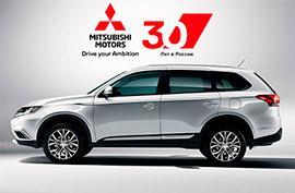 Mitsubishi 30 лет в России